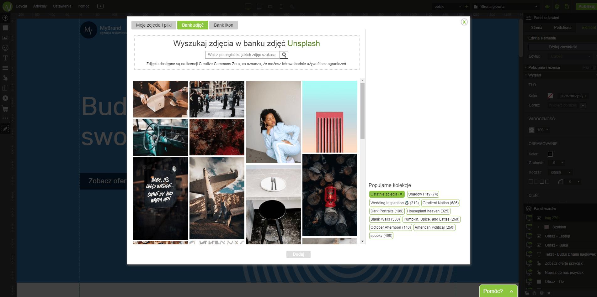 wordpress tworzenie strony